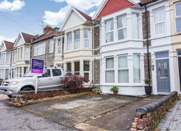 Thumbnail 4 bedroom terraced house for sale in Salisbury Road, Brislington