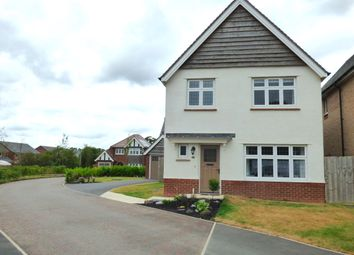 Thumbnail 3 bed detached house for sale in Bradfield Close, Leyland