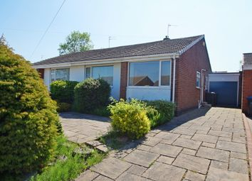 Thumbnail 2 bed semi-detached bungalow for sale in York Crescent, Newton Hall, Durham