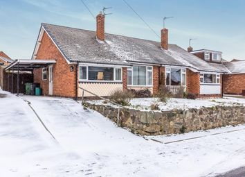 Thumbnail 2 bed bungalow for sale in The Meadows, Shepshed, Loughborough, Leicestershire