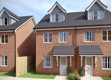 Thumbnail 3 bed town house for sale in Southampton Road, Cosham, Portsmouth