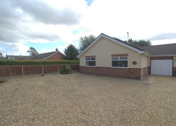 Thumbnail 2 bed detached bungalow to rent in Risegate Road, Gosberton, Spalding