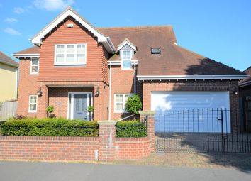 Thumbnail 4 bed detached house for sale in Warblington, Hampshire