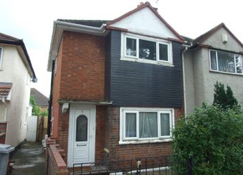 Thumbnail 1 bed semi-detached house to rent in Chalfont Avenue, Wembley, London