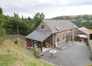 Thumbnail 3 bed barn conversion for sale in Pontdolgoch, Caersws