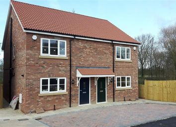 Thumbnail 3 bedroom semi-detached house for sale in Foss Court, Huntington Road, York