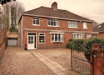 Thumbnail 3 bed semi-detached house for sale in The Walk, Merthyr Tydfil