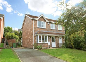 Thumbnail 3 bed semi-detached house for sale in Cornflower Grove, Ketley, Telford