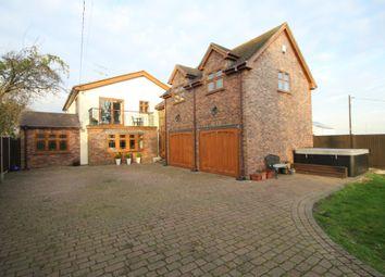 Thumbnail 4 bed detached house for sale in Kingsmans Farm Road, Hullbridge, Hockley