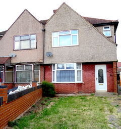 Thumbnail 3 bed semi-detached house to rent in Kenton Avenue, Southall