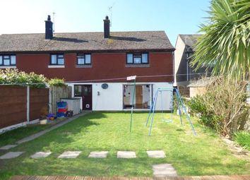 Thumbnail 3 bed semi-detached house for sale in Traffwll Road, Caergeiliog, Holyhead, Sir Ynys Mon