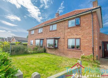 Thumbnail 3 bed semi-detached house for sale in Coronation Close, Happisburgh, Norwich