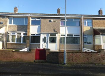Thumbnail 3 bed terraced house to rent in Gulliver Road, Hartlepool