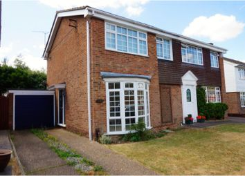 Thumbnail 3 bed semi-detached house for sale in St. Johns Way, Rochester