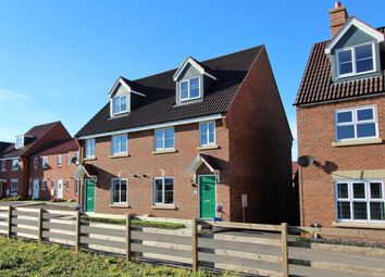 Thumbnail 4 bed semi-detached house for sale in Albatross Way, Louth
