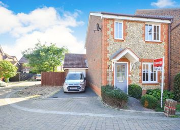 Thumbnail 2 bedroom end terrace house for sale in Penny Cress Road, Minster On Sea, Sheerness