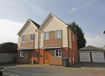 Thumbnail 3 bed semi-detached house to rent in Mayfield Gardens, New Haw