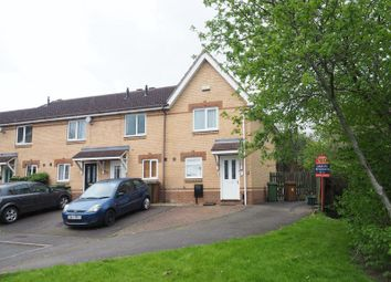 Thumbnail 2 bed terraced house for sale in Sandringham Close, Wellingborough