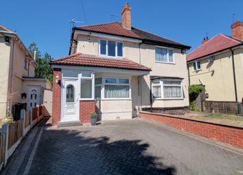 Thumbnail 2 bed semi-detached house for sale in Julia Avenue, Erdington, Birmingham