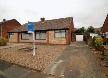 Thumbnail 2 bed semi-detached bungalow for sale in Lingfield Drive, Eaglescliffe, Stockton-On-Tees