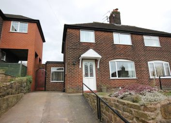 Thumbnail 2 bed semi-detached house for sale in Geoffrey Avenue, Leek