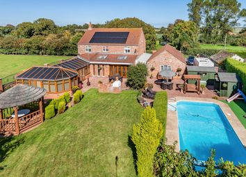 Thumbnail 4 bed detached house for sale in Groose Lane, Wainfleet St. Mary, Skegness