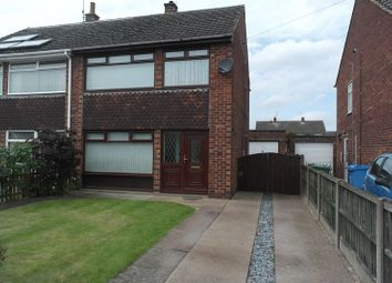 Thumbnail 3 bed semi-detached house to rent in Monckton Road, Retford