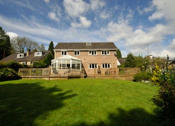 Thumbnail 4 bed detached house for sale in Harewood Road, Holymoorside, Chesterfield