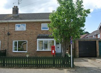 Thumbnail 3 bed semi-detached house for sale in Sandygate Close, Horbling, Sleaford, Lincolnshire