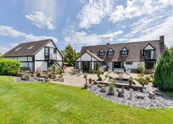 Thumbnail 6 bedroom detached house for sale in Bull Lane, Langley Upper Green, Saffron Walden