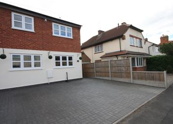 Thumbnail 3 bed semi-detached house for sale in Bruxby Street, Syston, Leicester