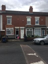 Thumbnail 3 bedroom terraced house for sale in Solihull Road, Sparkhill, Birmingham