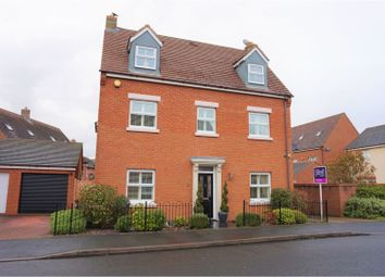 Thumbnail 5 bed detached house for sale in Ellsmore Meadow, Lichfield