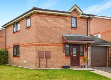 Thumbnail 3 bedroom detached house for sale in Brearley Avenue, Oldbrook, Milton Keynes