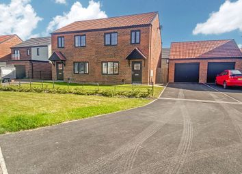 Thumbnail 3 bed semi-detached house for sale in Coningsby Crescent, St. Nicholas Manor, Cramlington