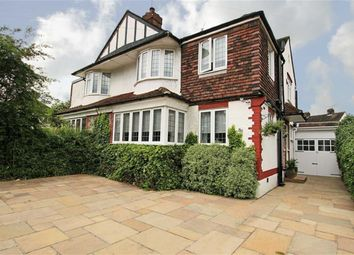 Thumbnail 4 bed semi-detached house for sale in Totteridge Lane, Totteridge, London