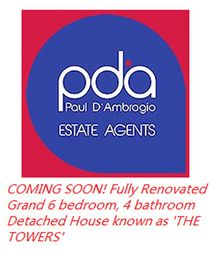 Thumbnail 6 bed detached house for sale in Church Road, Saughall, Chester