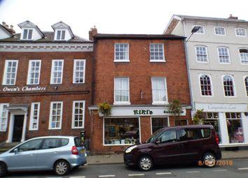 Thumbnail 1 bed flat to rent in St Owen Street, Hereford
