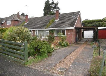 Thumbnail 2 bedroom semi-detached bungalow to rent in Lilian Close, Hellesdon, Norwich