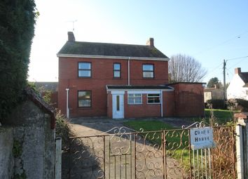 Thumbnail 4 bed detached house for sale in Back Lane, Middlezoy, Bridgwater