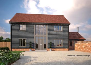 Thumbnail 3 bed detached house for sale in Church Road, Wretham, Thetford