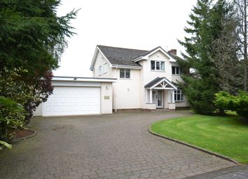 Thumbnail 4 bed detached house to rent in Beaufort Chase, Wilmslow