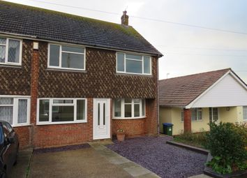 Thumbnail 3 bed semi-detached house for sale in Cairo Avenue, Peacehaven