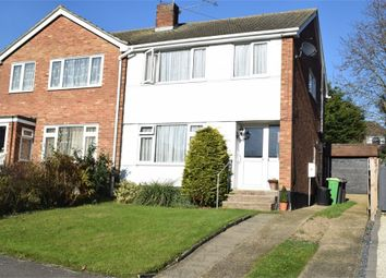 Thumbnail 3 bed semi-detached house for sale in Southview Close, Rayleigh, Essex