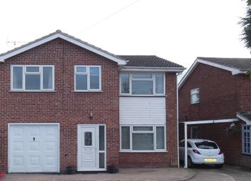 Thumbnail 4 bed detached house for sale in Tithe Close, Thringstone