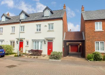 Thumbnail 4 bed end terrace house for sale in Chesterfield Way, Eynesbury, St. Neots, Cambridgeshire