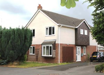 Thumbnail 4 bed detached house to rent in Delamere Park Way West, Cuddington, Northwich