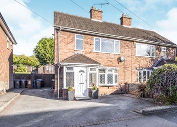 Thumbnail 2 bed semi-detached house for sale in East Close, Burbage, Hinckley