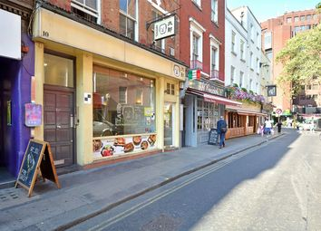 Thumbnail 1 bed flat for sale in Old Compton Street, London