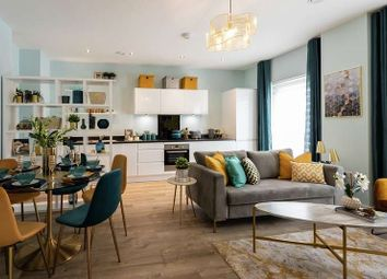 "Thumbnail 1 bed flat for sale in ""Plot 153"" at Honeypot Lane, London"